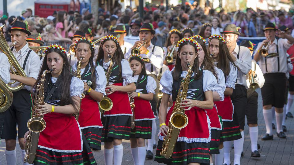 Oktoberfest, Band, Marching, March, Music, Musician