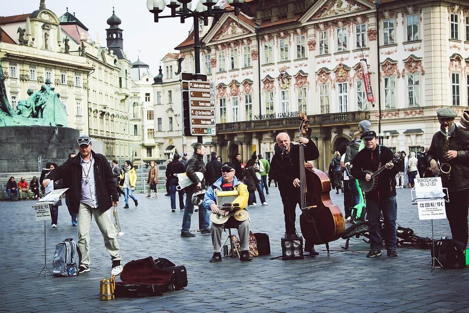 Photo, Musicians, Street Musicians