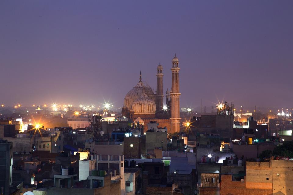 Jama Masjid, Mosques, Minarets, Delhi, Muslim