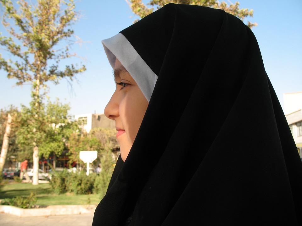 Girl, Park, Day, Female, Happy, Portrait, Muslim