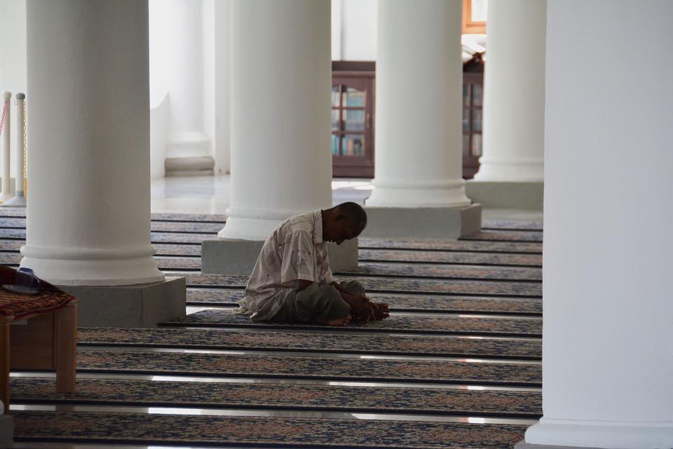 Mosque, Praying, Muslim, Islam, Religion, Pray, Islamic