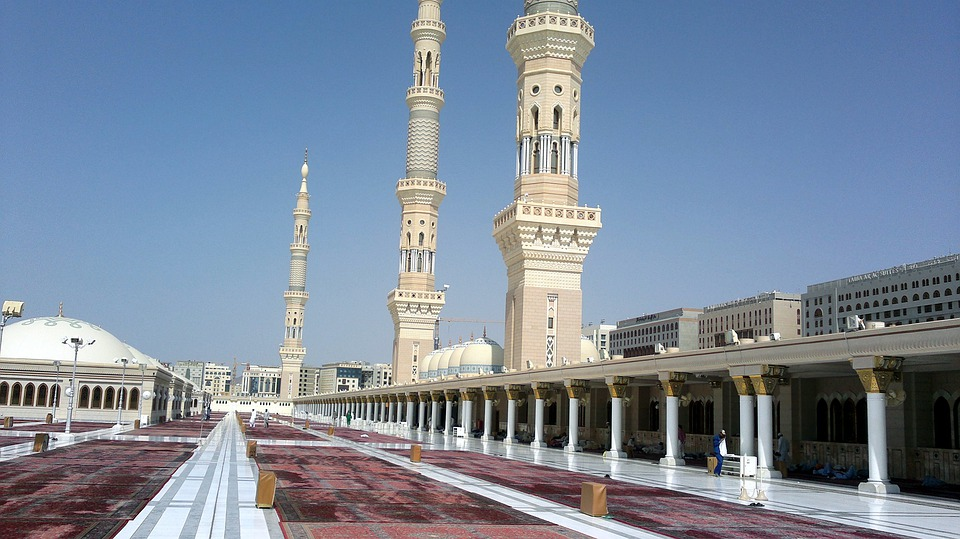 Madina, Mosque, Muslims, Muslim, Arabic, Holy, Religion