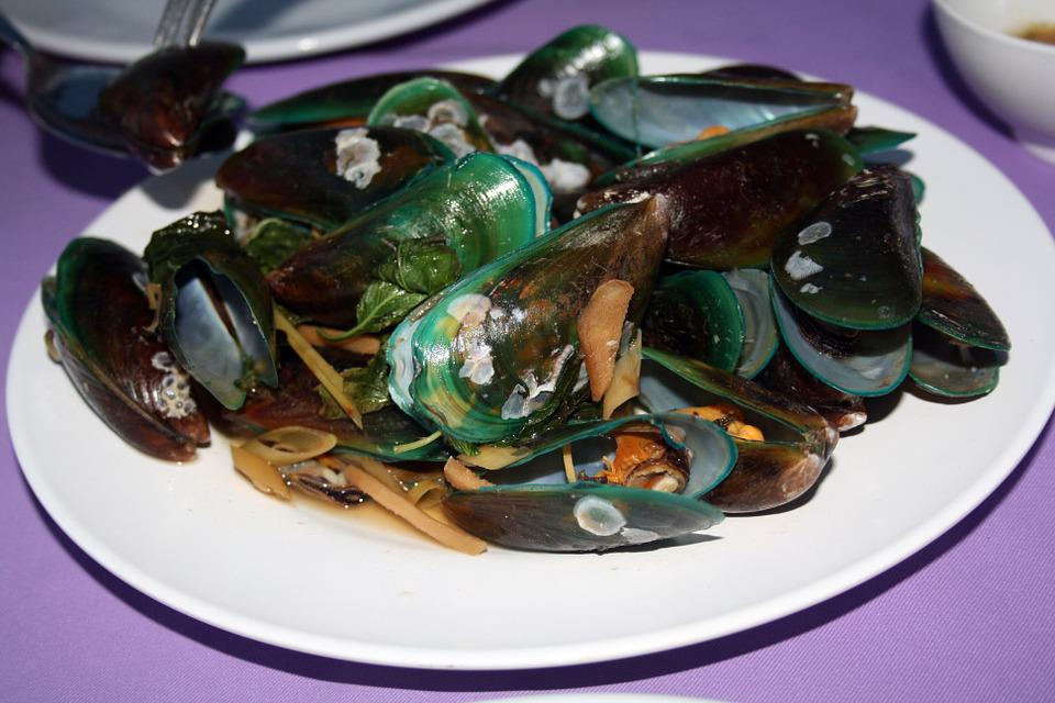 Mussels, Eat Thai, Asian Clam Dish