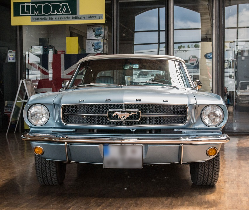 Auto, Ford, Mustang, Automotive, Oldtimer, Cabriolet