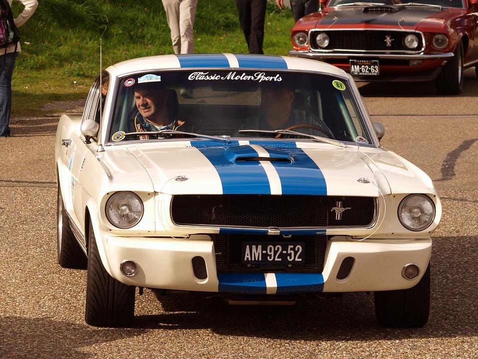 Ford, Mustang, Automobile, Car, Oldtimer, Design