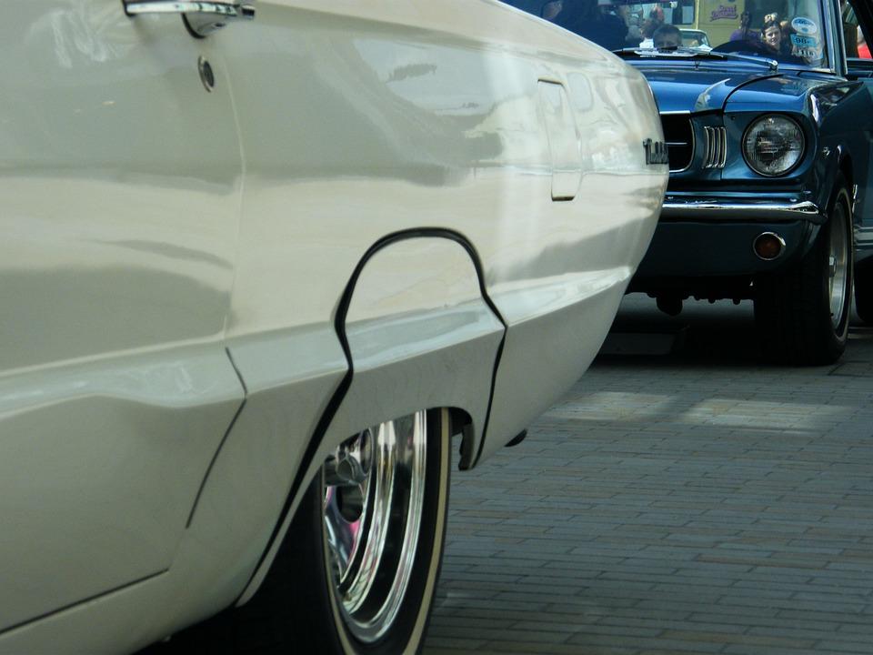 Mustang, Classic, Car, Vintage, Transportation, Retro