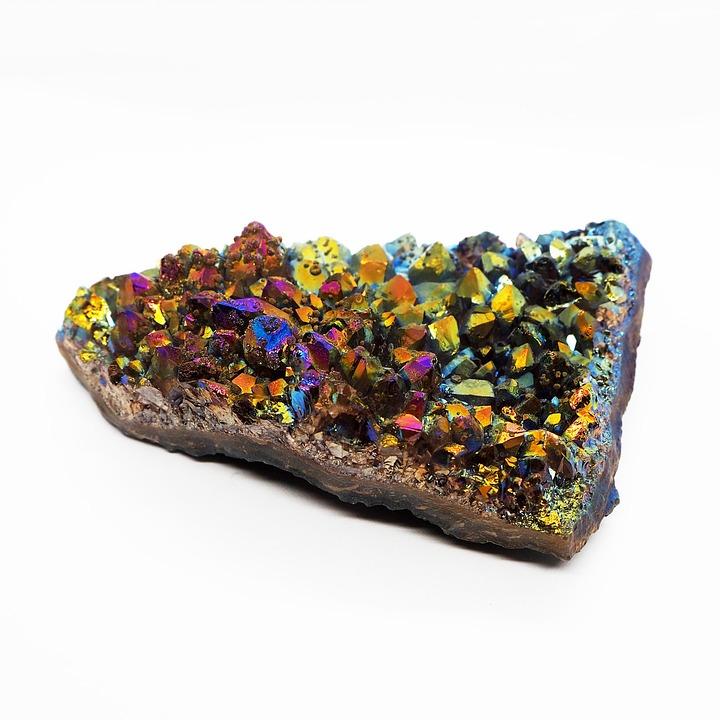 Amethyst, Titanium, Aura, Mutlicolour, Multicolor