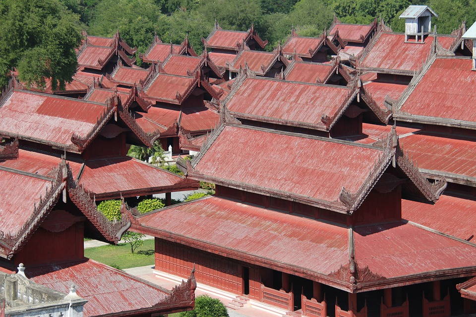 Mandalay, Myanmar, Architecture, Buddhism