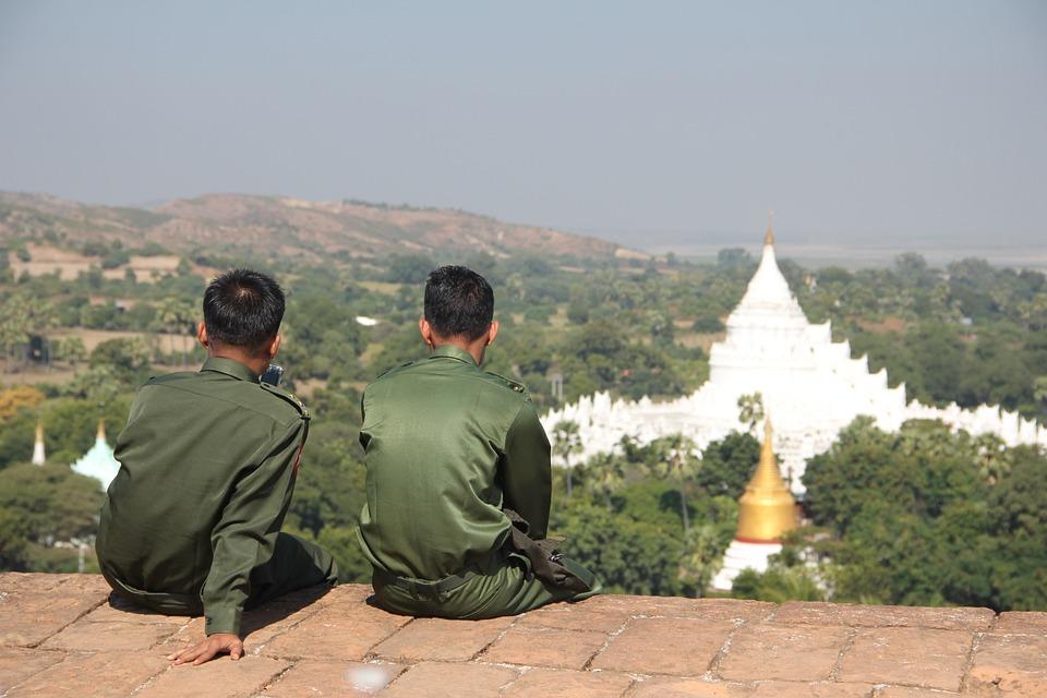 Myanmar, Military, Temple