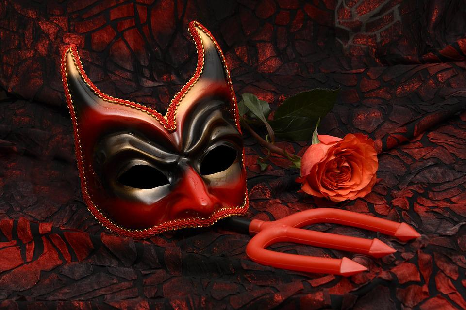 Mask, Carnival, Mysterious, Close, Romance, Carneval