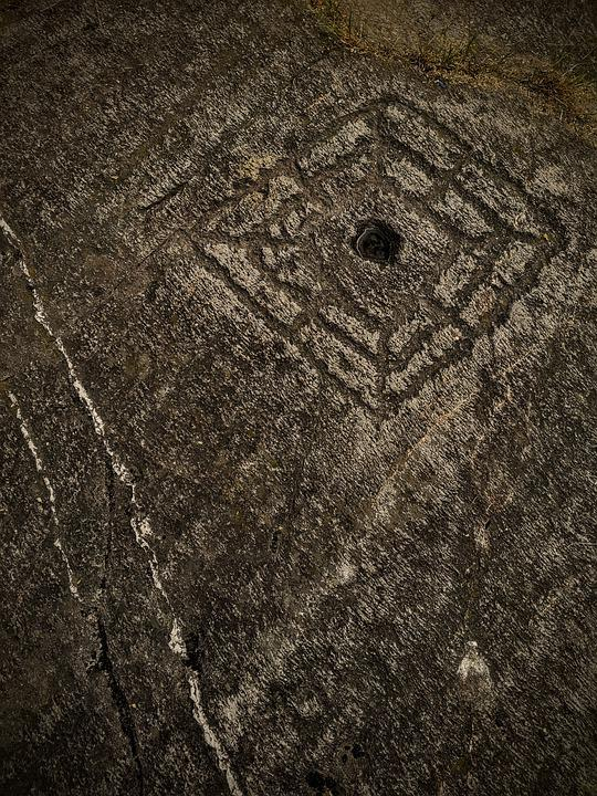 Rock, Mystery, Engraving, Petroglyphs, Fantasia