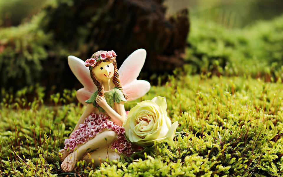 Elf, Mythical Creatures, Forest Elf, Rose, Mystical