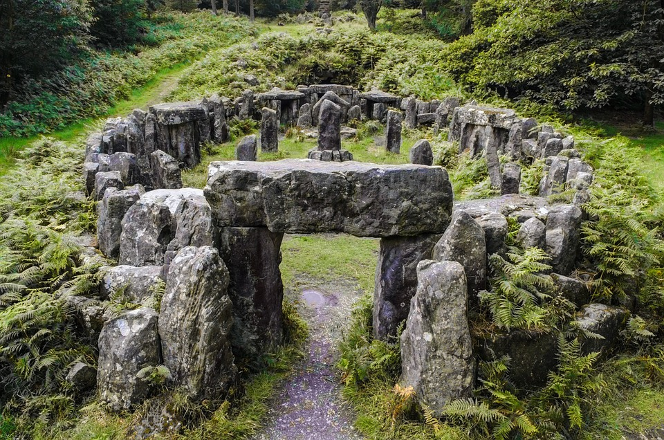 Historical, Druids, Rock, Town, Mystical, History