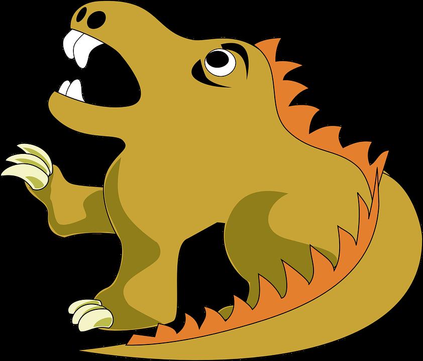 Dragon, Firedrake, Beast, Monster, Mythical Creature