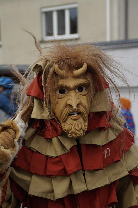 Devil, Mythical Creatures, Horned, Horns, Fig, Fool