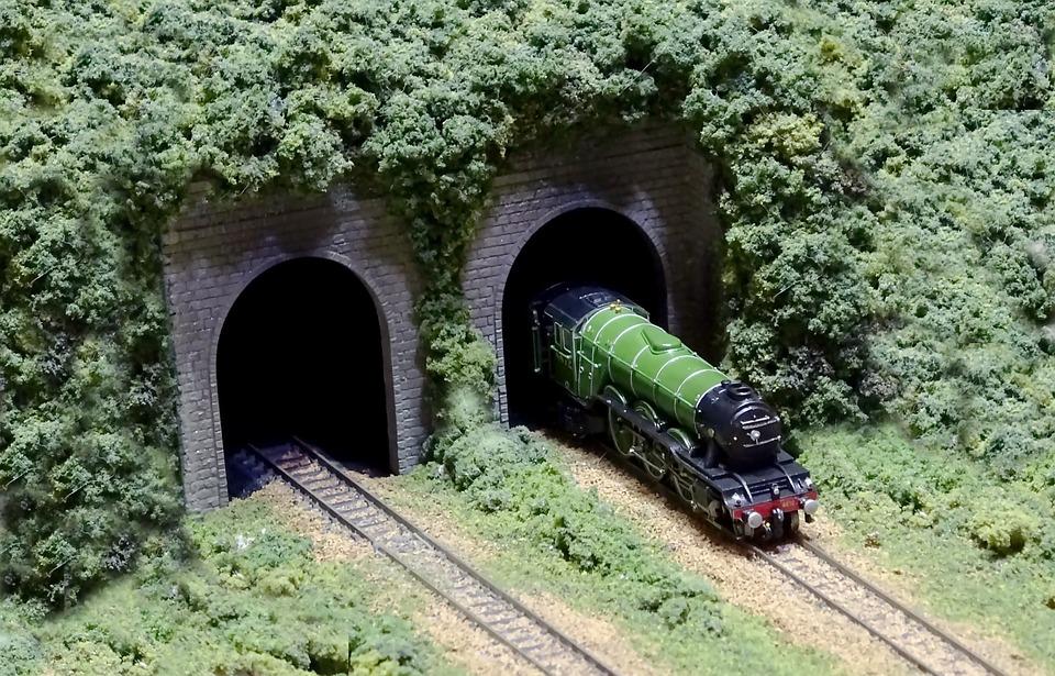 Steam Locomotive, Steam Train, N Gauge, Railroad Model