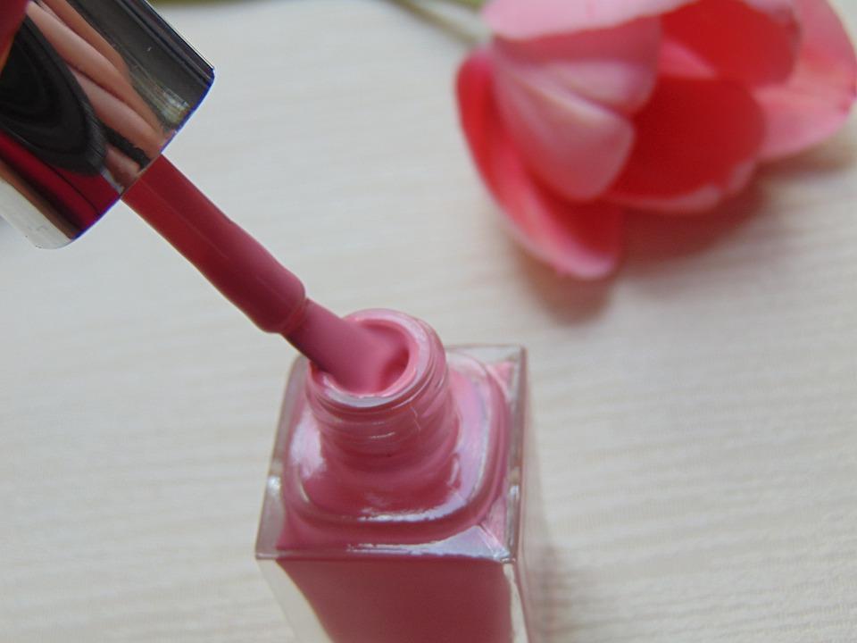 Beauty, Nail Polish, Pink