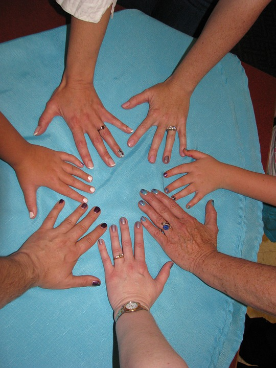 Nails, Hands, Rings, Manicure, Female, Nail Polish