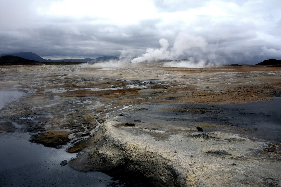 Hverir, Námaskarð, Active Volcanism, Volcanic Landscape