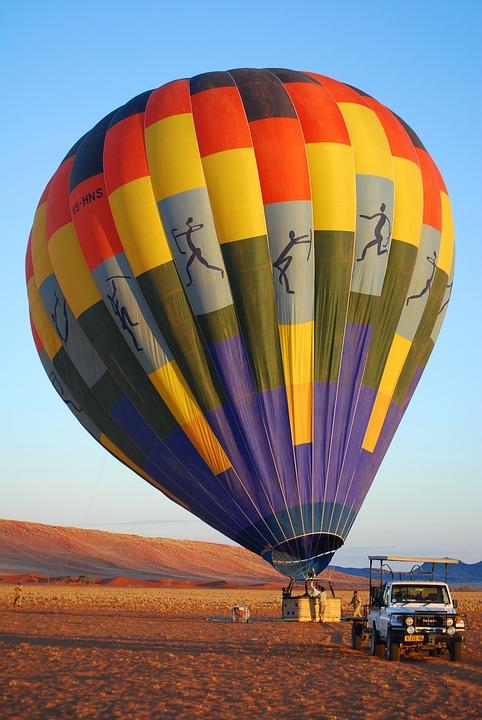 Balloon, Namibia, Fly, Africa, Hot Air Balloon, Namib