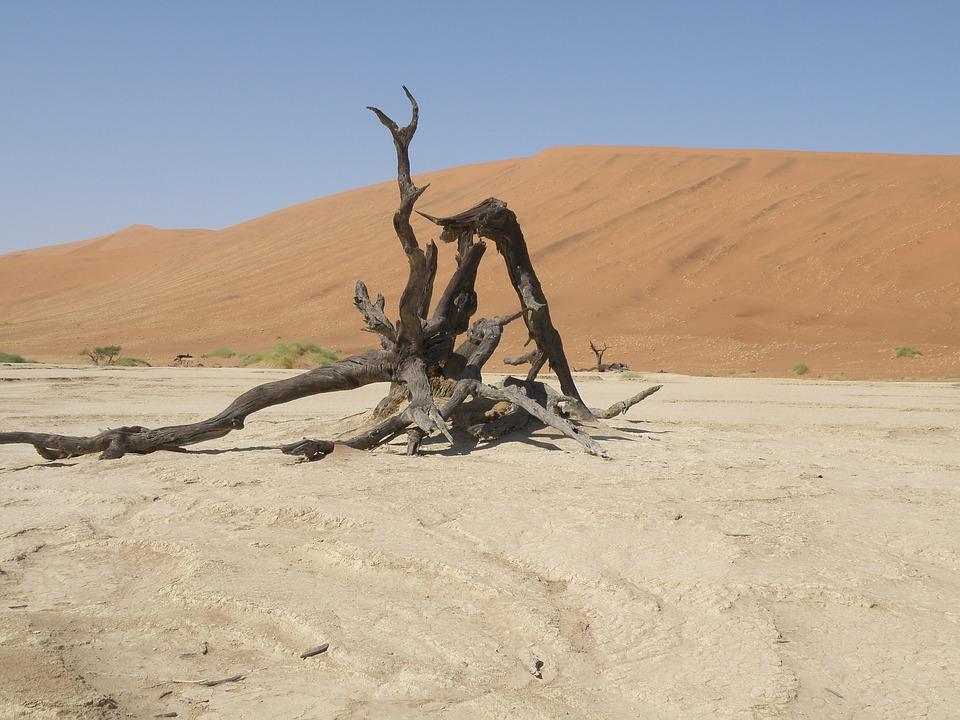 Dunes, Namibia, Desert
