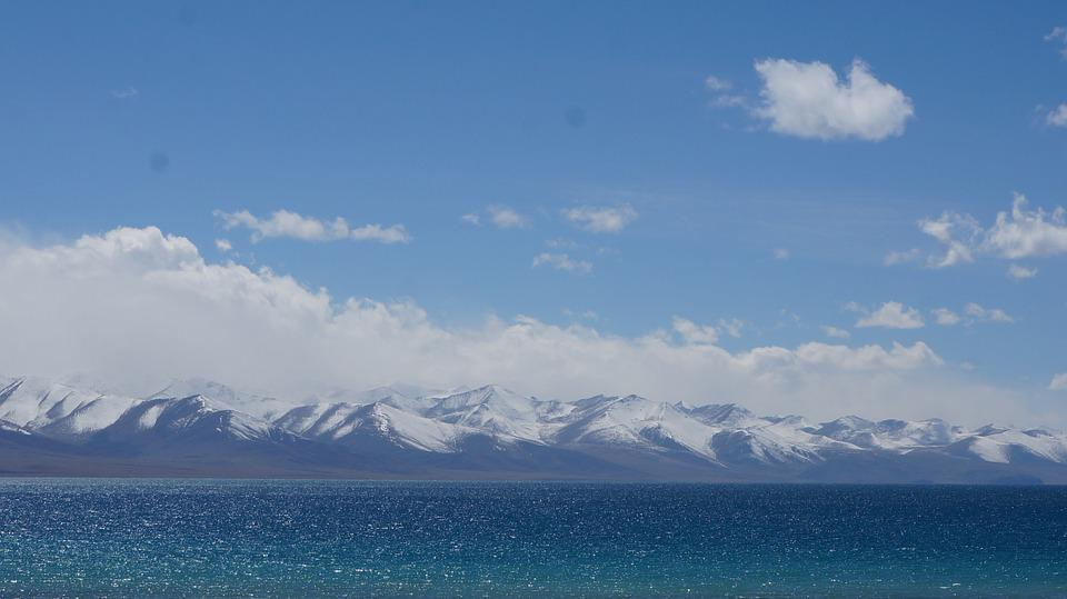 Namtso, Lake View, Blue
