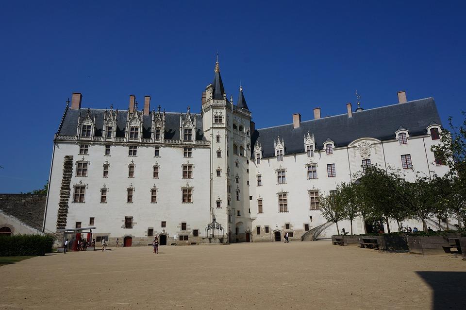 Castle, Nantes, Loire