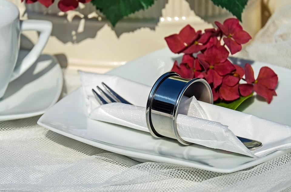 Napkin Ring, Ring, Stainless Steel, Shiny, Napkin
