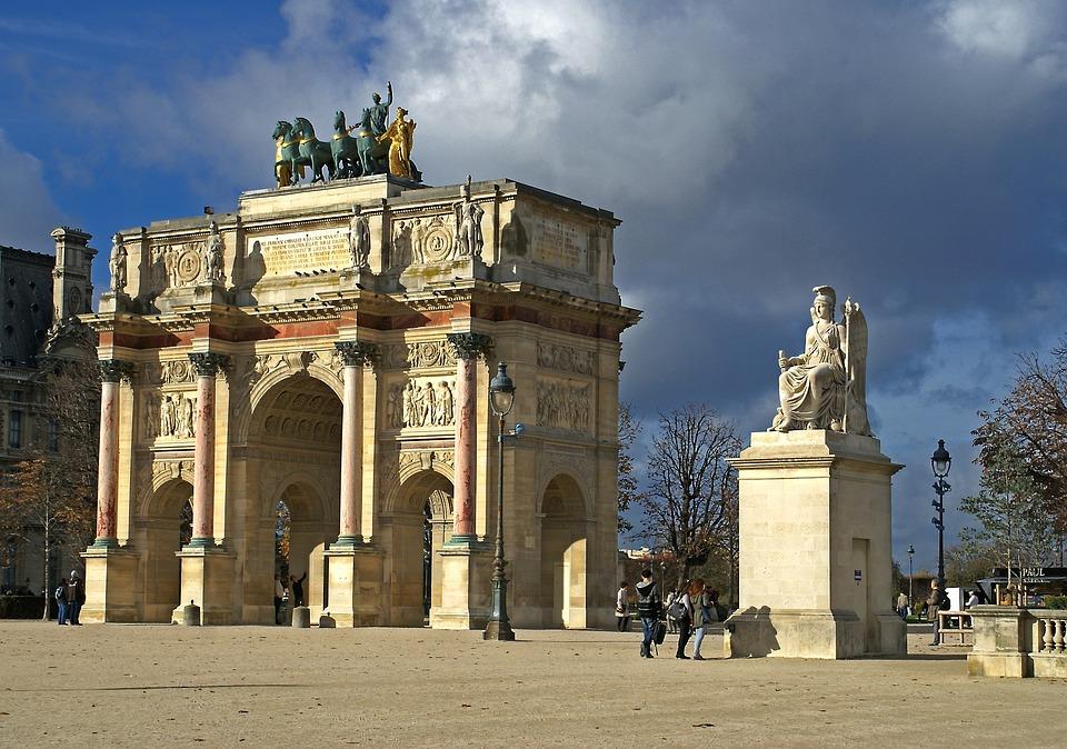 Small Triumphal Arch, Napoleon, History, Gloria