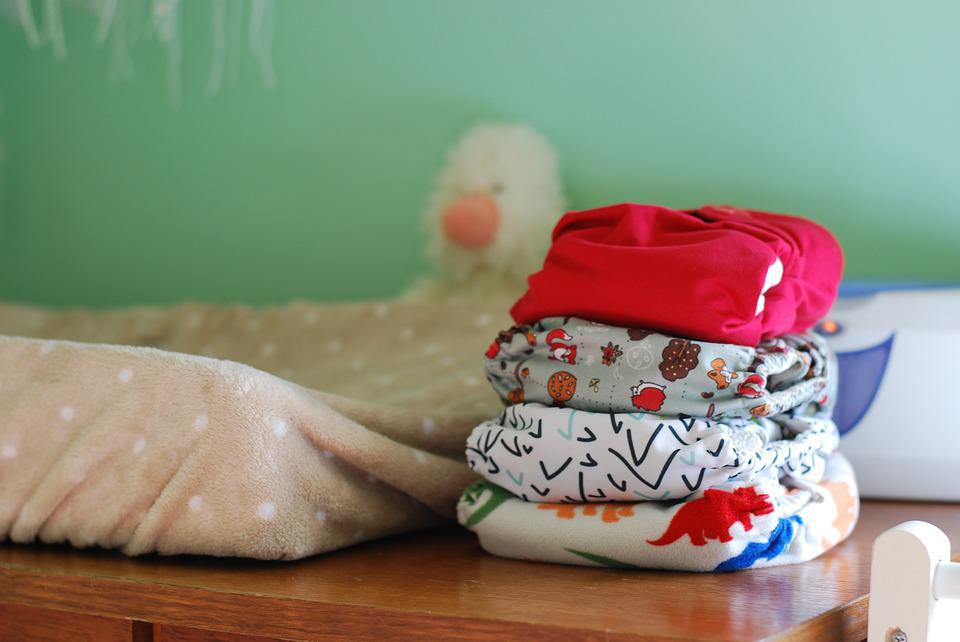Diapers, Cloth, Reusable, Baby, Newborn, Nappy, Infant