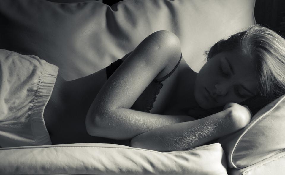Sleep, Sleeping, Rest, Siesta, Naps, Black And White