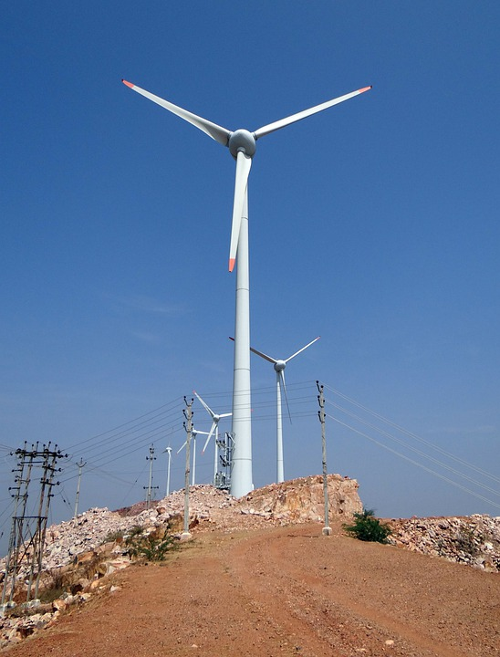 Wind, Turbine, Nargund Hill, Wind Power, Generator