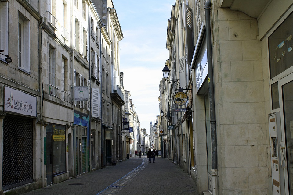 City Street, Narrow Street, Street France