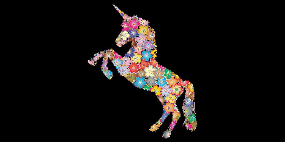 Unicorn, Horse, Flower, Florist, Narwhal, Mythical