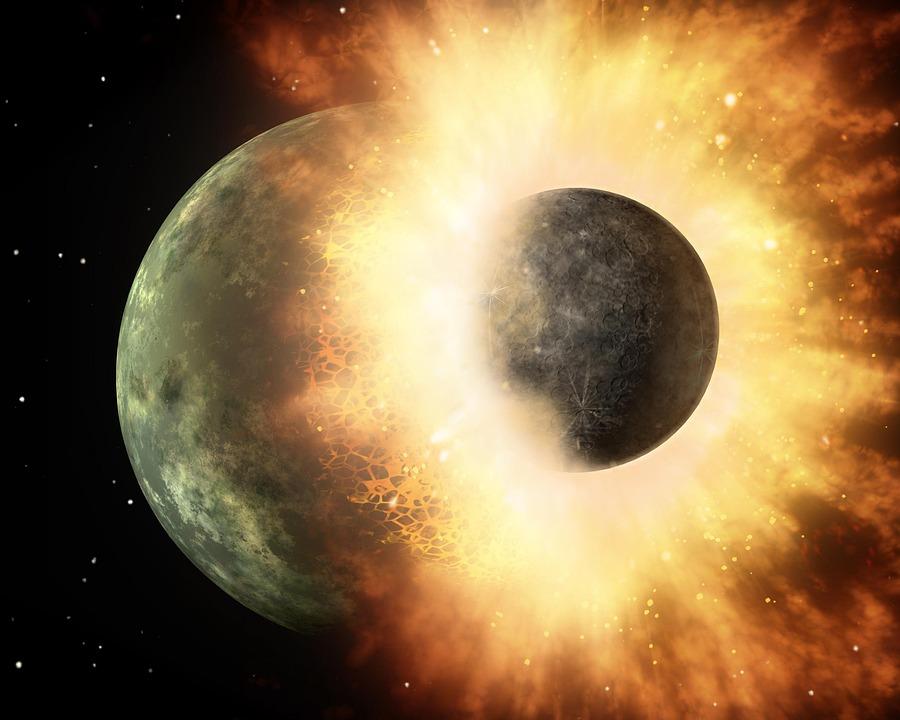 Stars, Collision, Planets, Astronautics, Nasa
