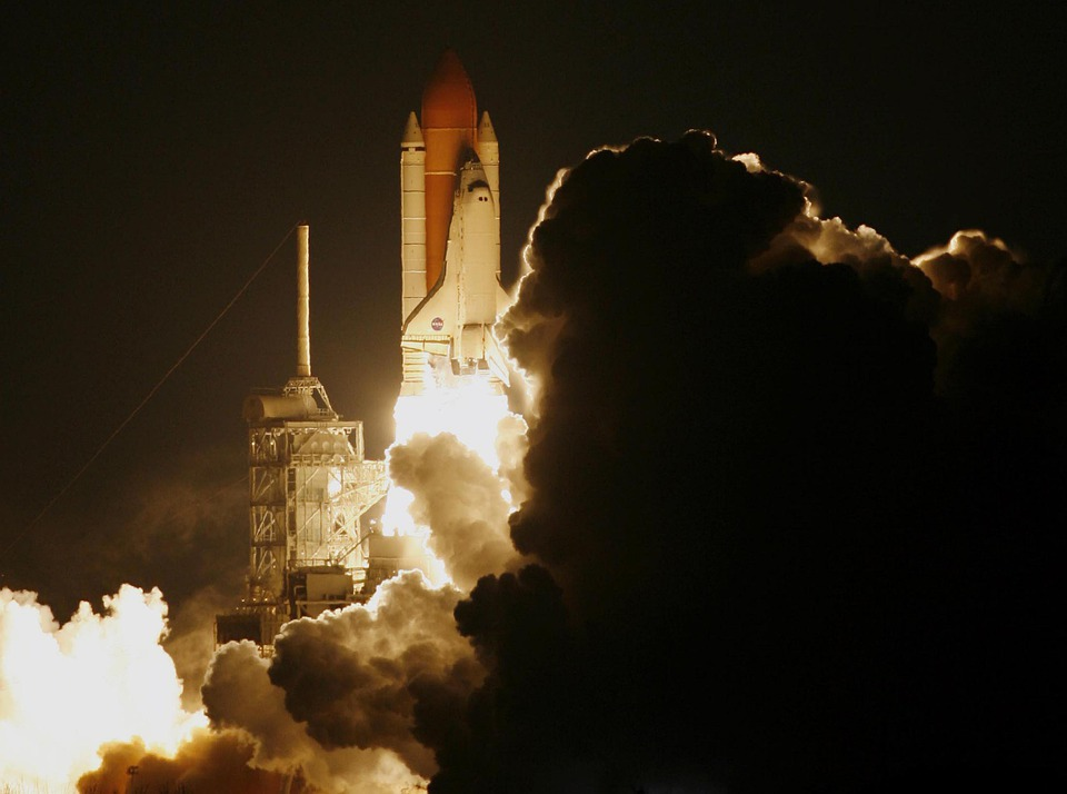 Rocket, Lift-off, Liftoff, Astronautics, Nasa
