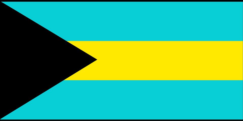 Bahamas, Flag, Symbol, Country, Nation, Signs, Symbols