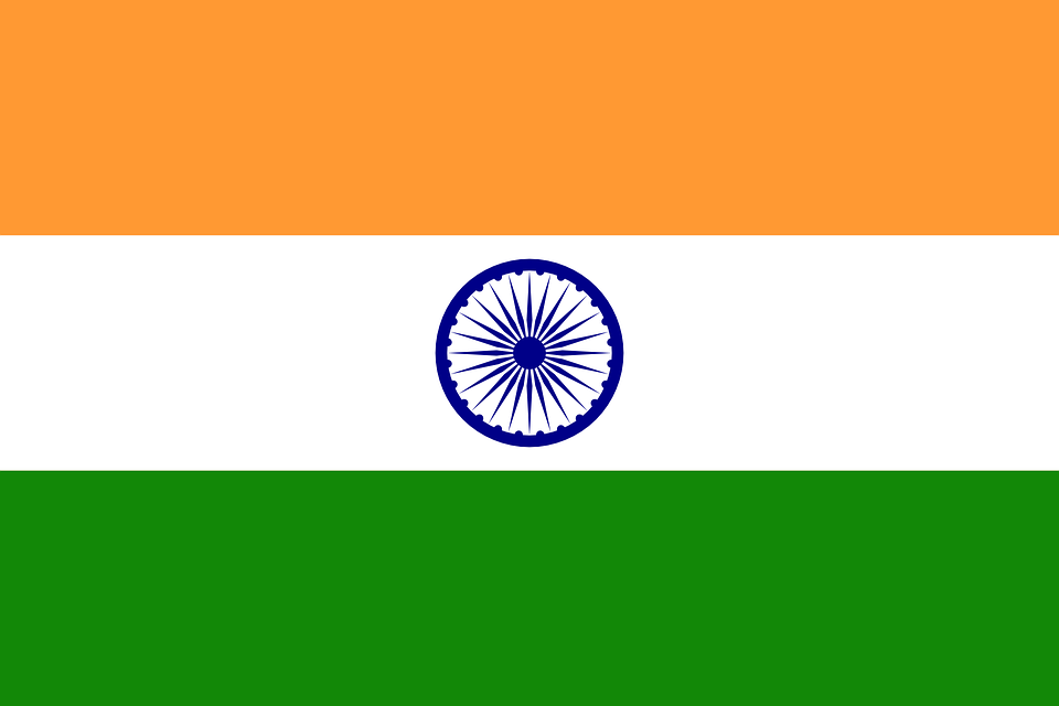 Flag, India, Tricolor, Country, Nation, National