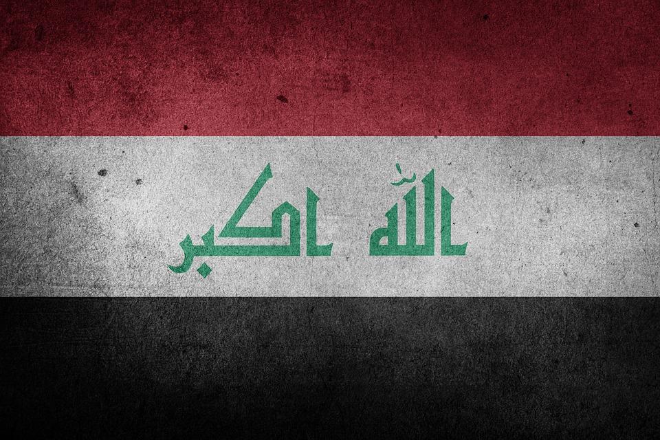 Iraq, Flag, National Flag, Grunge, Nation, Middle East