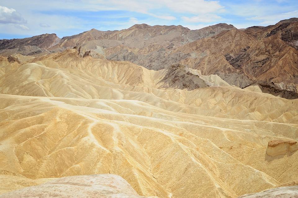 Death, Valley, Landscape, Desert, Park, National, Hot