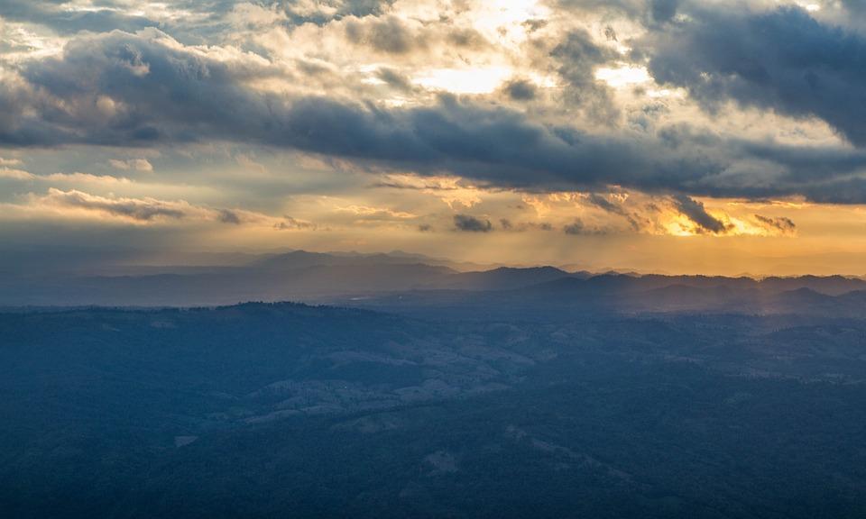 Mountains, Fog, Nature, National Ejaculation