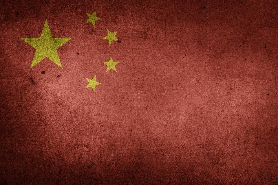 China, Flag, Prc, National Flag, Asia, Grunge