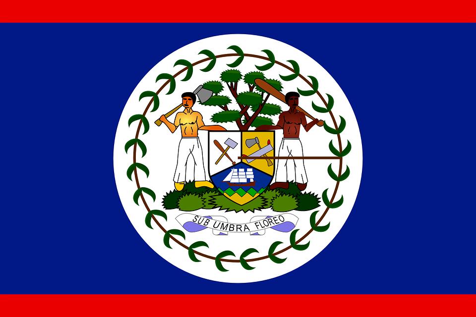 Belize, Flag, Country, Nation, Symbol, Signs, National