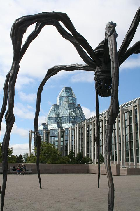National Gallery Of Canada, Ottawa, Art Gallery, Maman