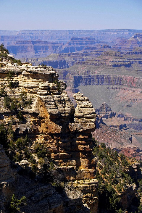 Grand Canyon, Arizona, Usa, National Park