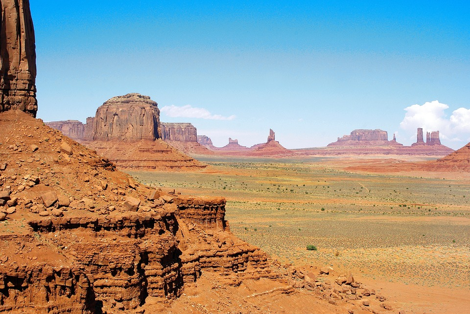 Usa, Monument Valley, National Park, Desert, Immensity