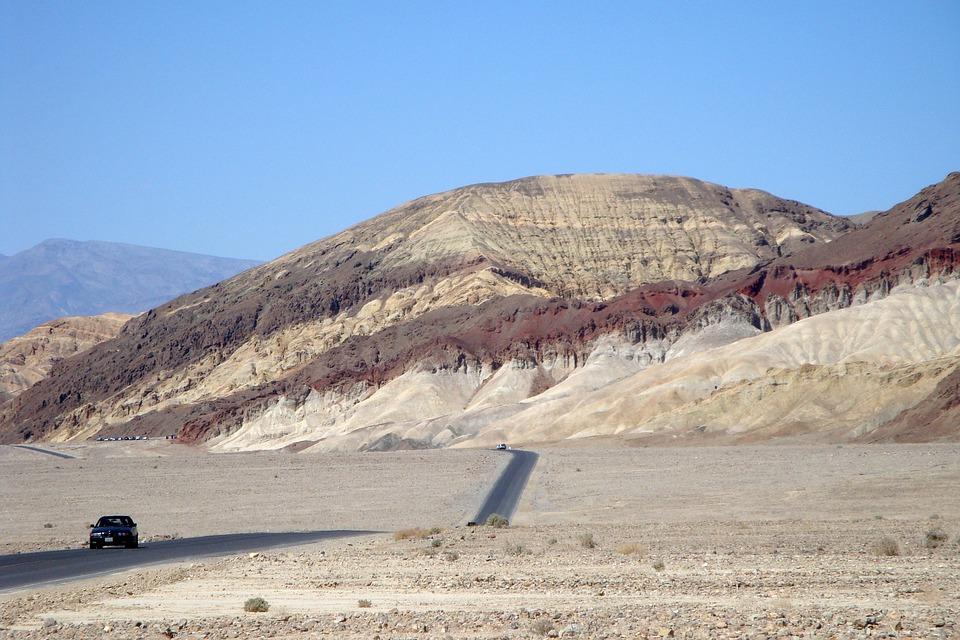Death Valley, Desert, America, National Park, Landscape
