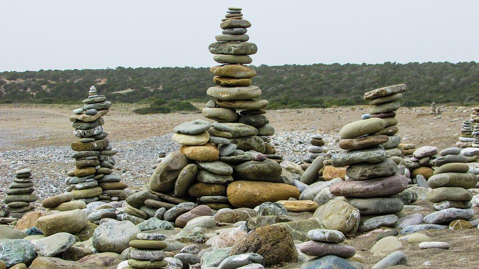 Cyprus, Akamas, National Park, Lara Bay, Stones