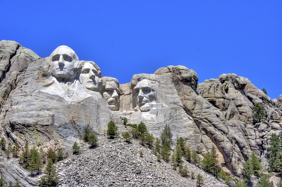 Mt Rushmore, National Park, South Dakota, Usa, Memorial