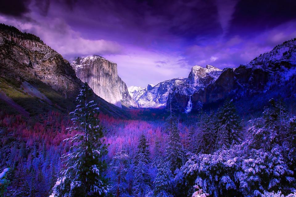 Free Photo National Park Mountains Snow California Yosemite Max - National parks california